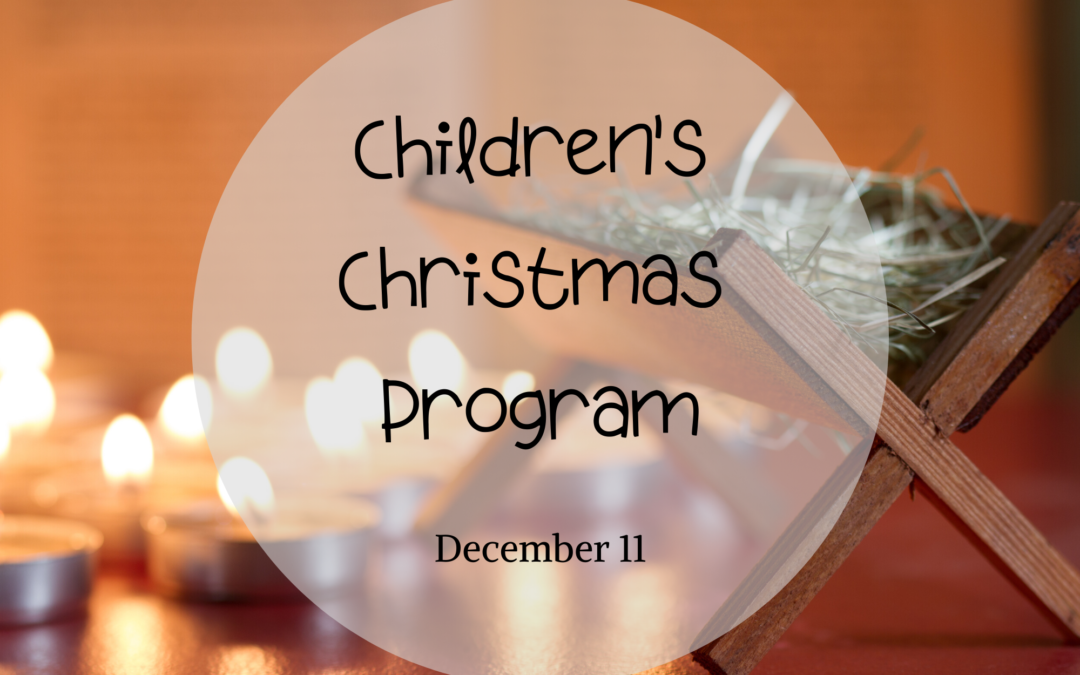 Children's Christmas Program