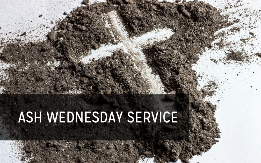 Multigenerational Ash Wednesday Service