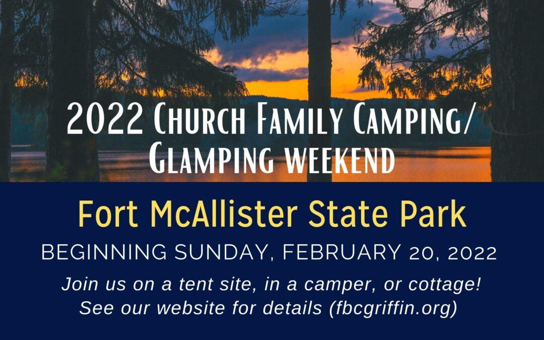 Camping/Glamping Weekend